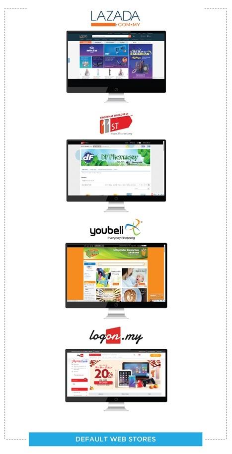 Default Web Stores