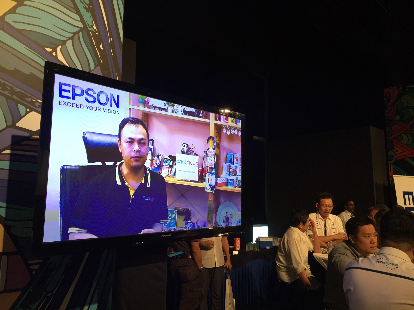 Vincent Tong's interview with Epson on Epson Day