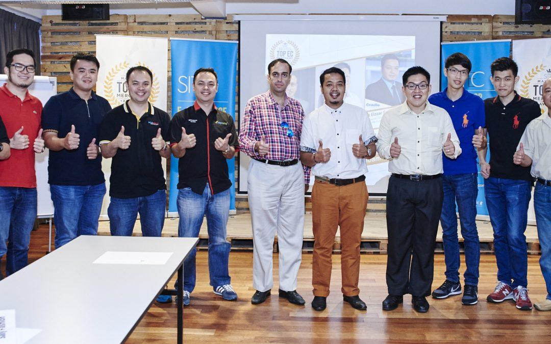 Top EC Merchants receive Mentorship from experts