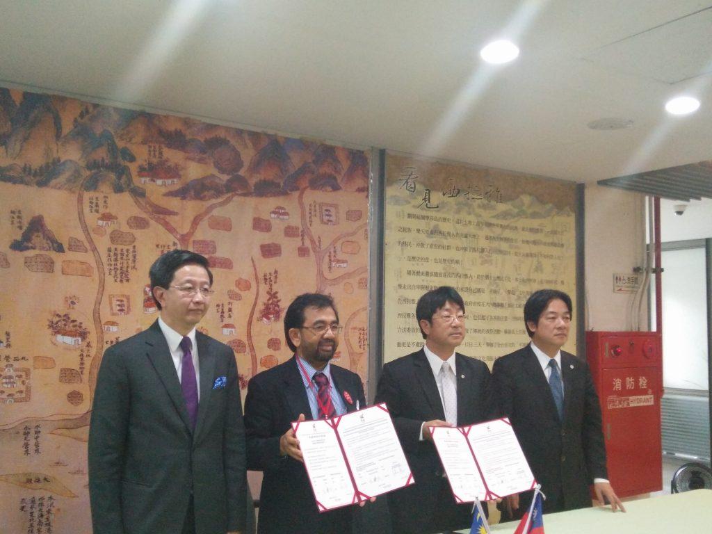 Signing of MoU between Selangor and Taiwan
