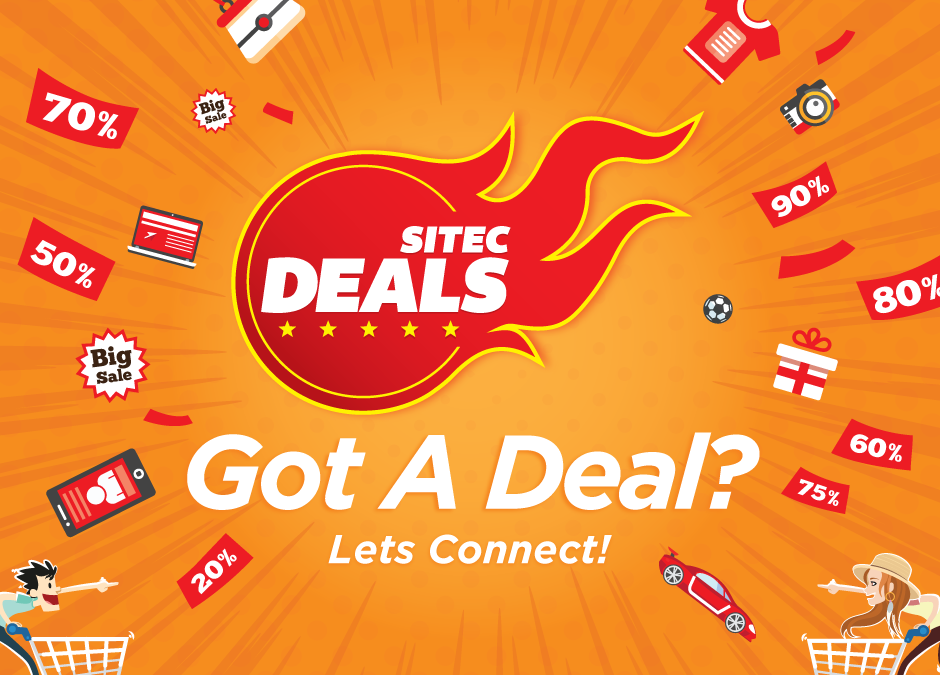 Over 40 E-Merchants Join Newly-Launched SITEC Deals Platform; E-Shoppers Can Enjoy Up To 80% Discounts This Coming Merdeka