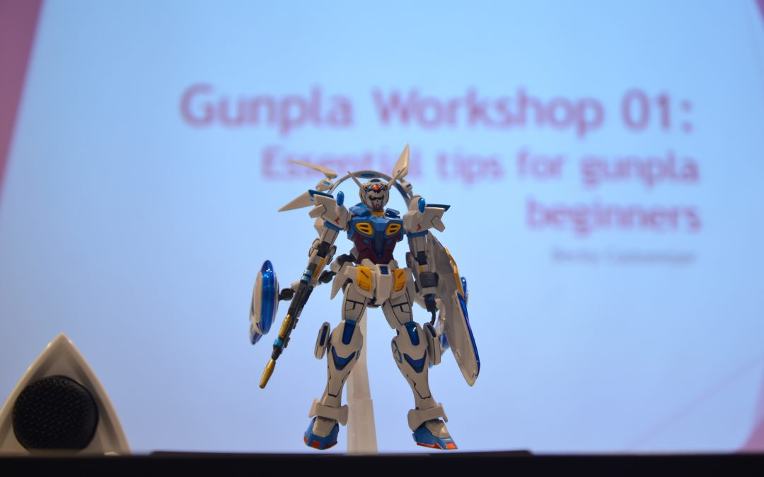 Hobbyists of all Ages Flock to SDCC@i-City for Gundam Plastic Model Workshop
