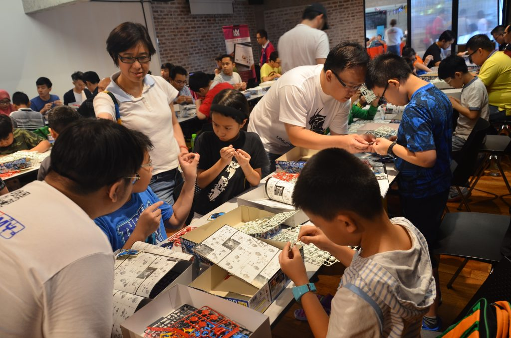 The workshop is also a great way for parents to bond with their children!