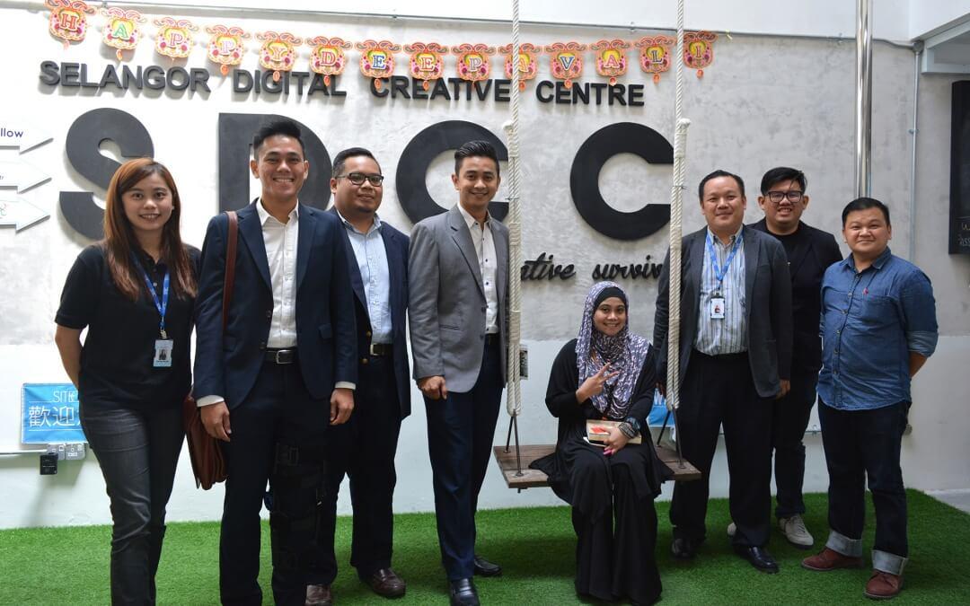 Selangor Youth Community Delegation Visits SDCC