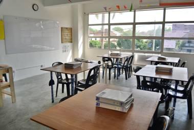 The Arus classroom in Alma Bukit Mertajam, Penang