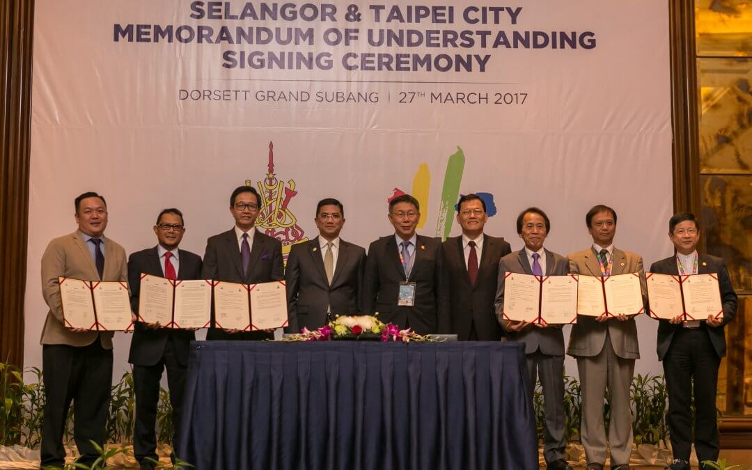 "MoU signings ""another milestone"" in Selangor-Taipei relations, says MB"