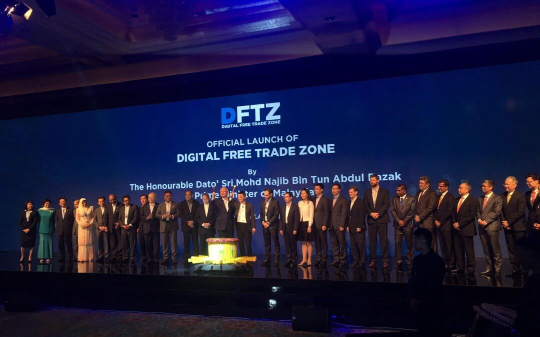 Najib, Ma officiate launch of world's first Digital Free Trade Zone
