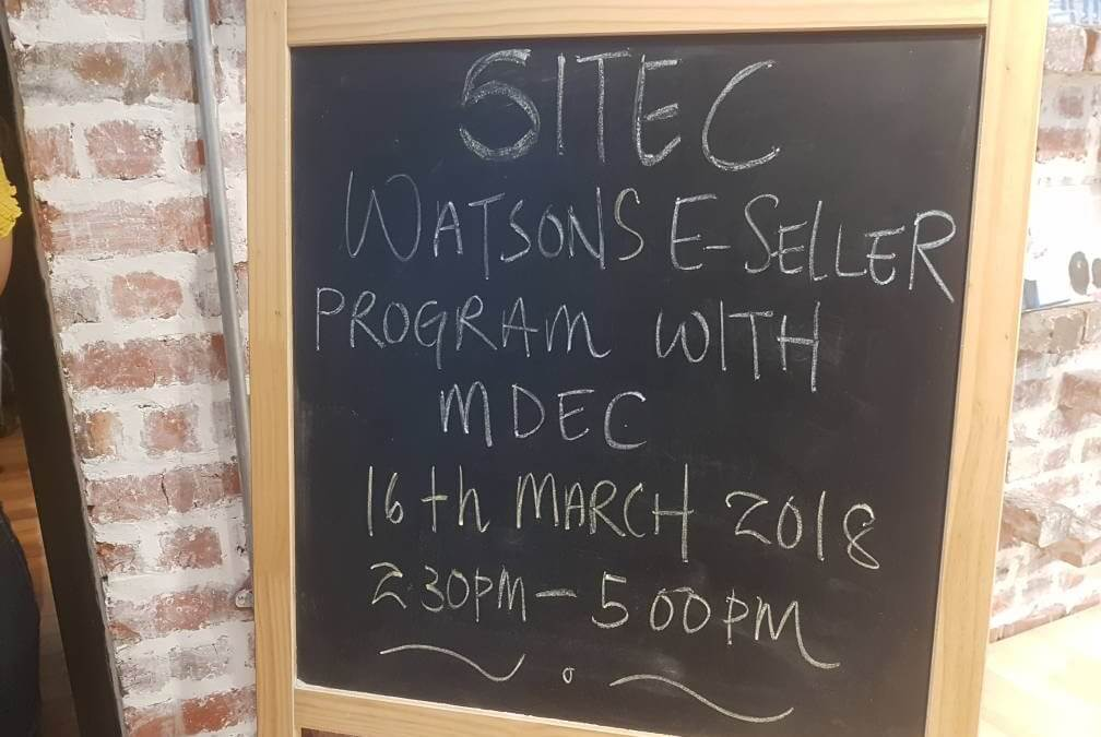 Watsons e-Seller Programme comes to SITEC