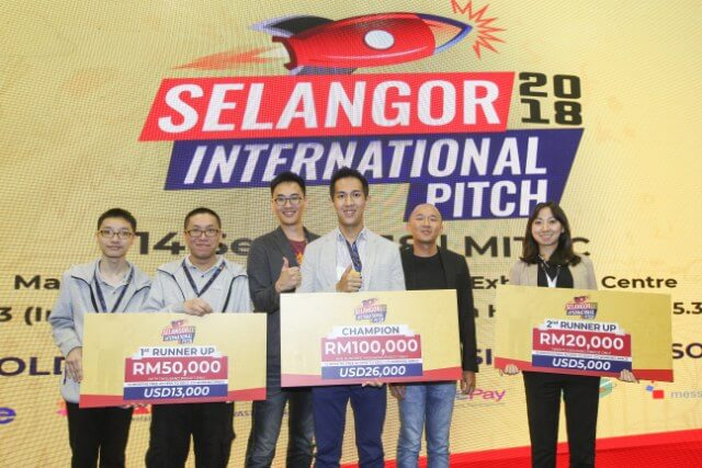 Malaysian Startup Wins RM 50,000 at International Pitching Competition