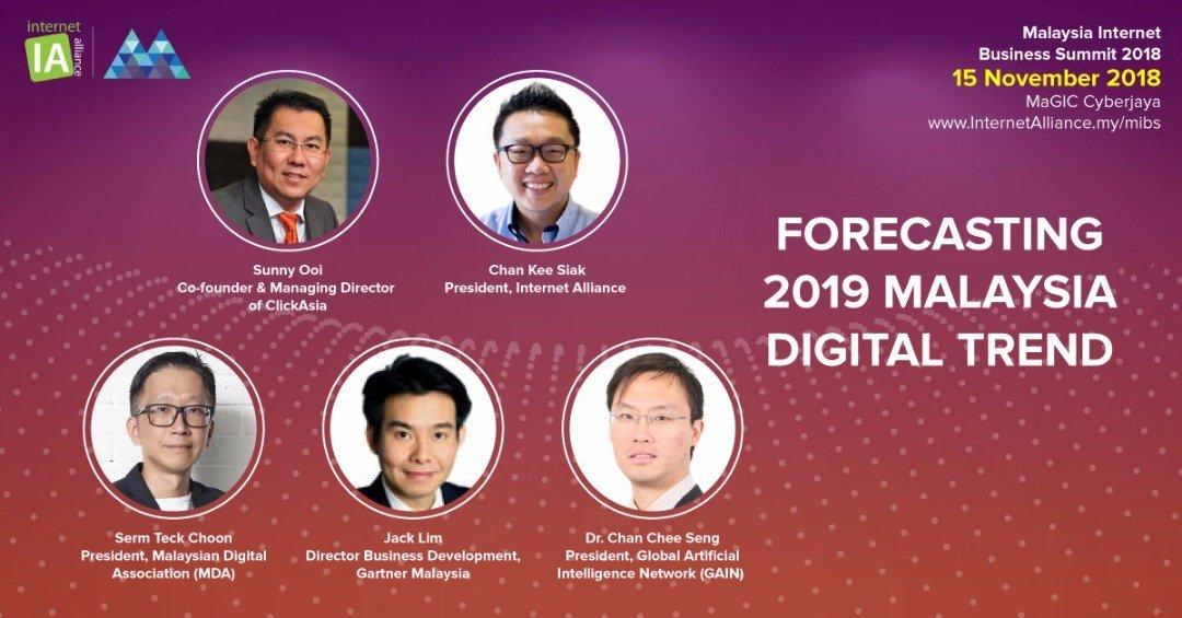 Malaysia Internet Business Summit Returns on 15 November 2018