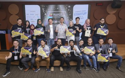 SITEC Announces the Top 10 and Top 5 Startups from its Selangor Accelerator Programme 2019 (SAP 2019)