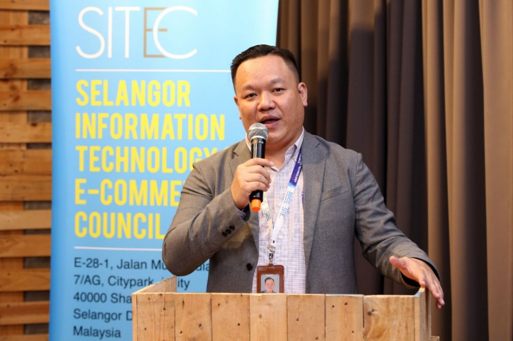 SITEC Chief Executive Yong Kai Ping