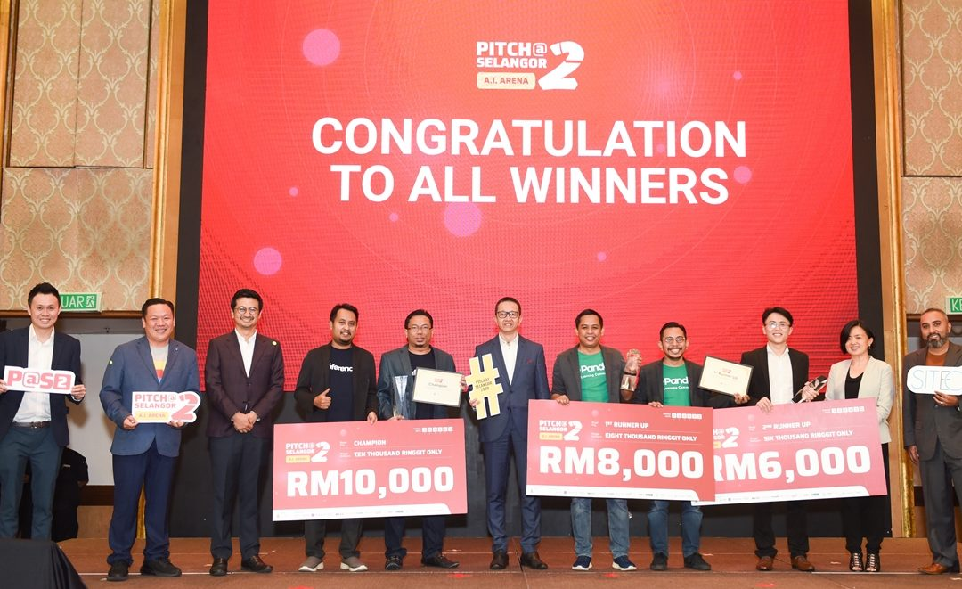 INFERENCE ANNOUNCED AS PITCH@SELANGOR 2ND SERIES: A.I. ARENA WINNER