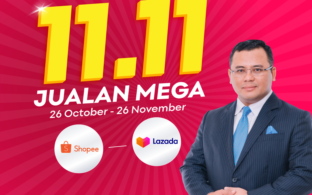 2 million vouchers for Selangor E Bazar Nov 11 Megasales