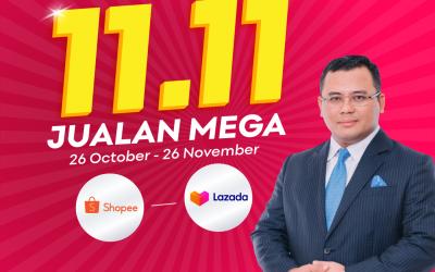 2 million vouchers for Selangor E Bazar Nov 11 Megasales