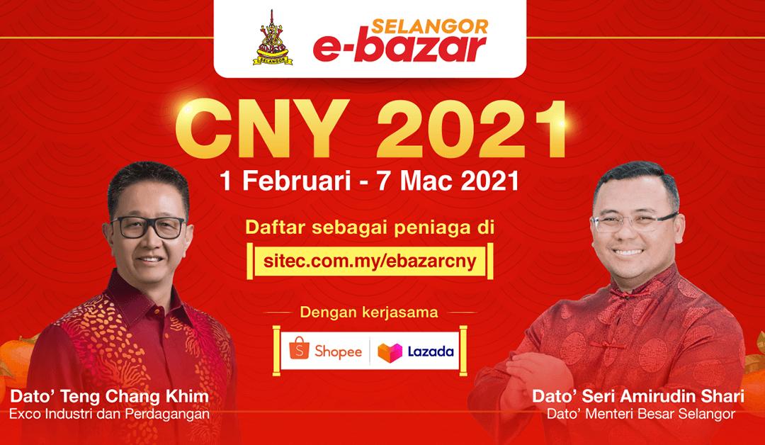 Pendaftaran bagi Kempen Selangor E-Bazar CNY sudah dibuka