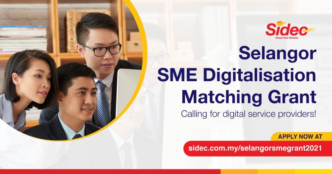 RM5 million Selangor SME Digitalisation Matching Grant: Open Invitation to Digital Service Providers