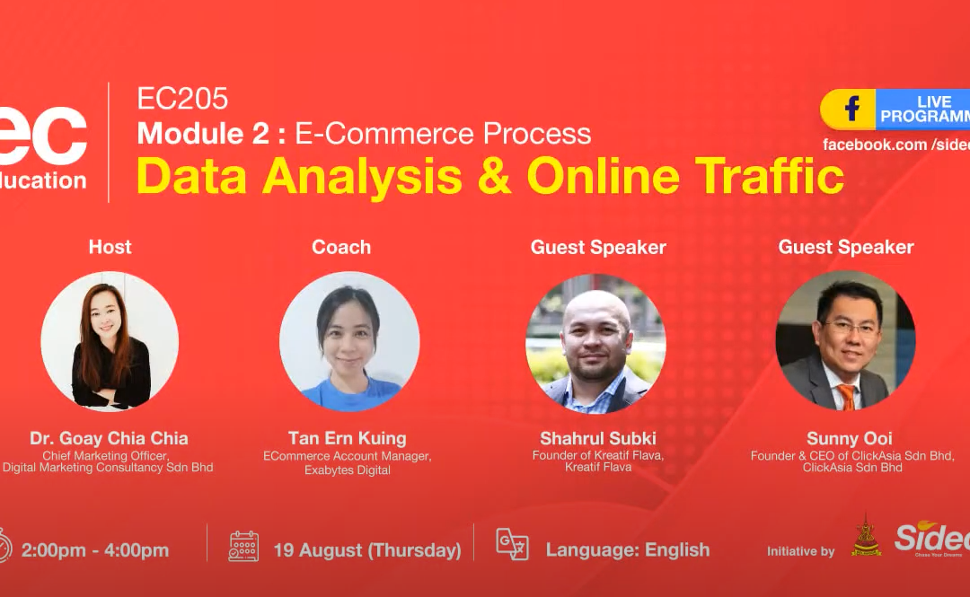 EC205 2021 Data Analysis & Online Traffic